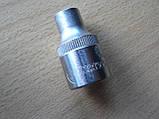 Головка 8 шестигранная 13х38мм Intertool Хром ванадиум, фото 2