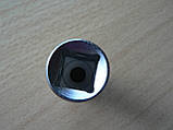 Головка 8 шестигранная 13х38мм Intertool Хром ванадиум, фото 4