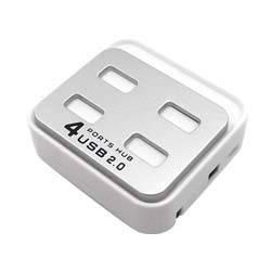 PowerPlant USB - хаб 4 Ports (квадрат)