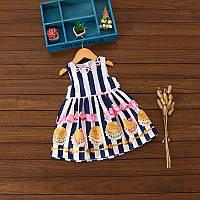 Детское летнее платье легкое ,хб.