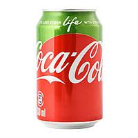 Coca-Cola Life с стевией (330 мл.) Дания