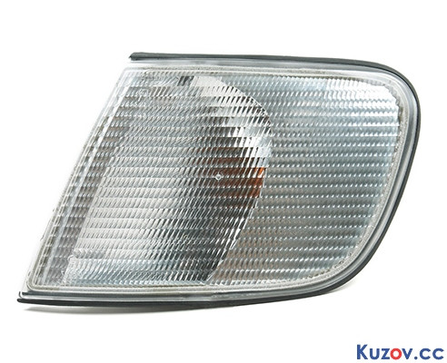 Указатель поворота Audi 100 91-94 левый, белый (Depo) 1316193E 4A0953049B