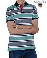 Модная мужская футболка поло.