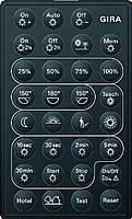 Дистанционное управление автоматический переключатель Gira (230900)