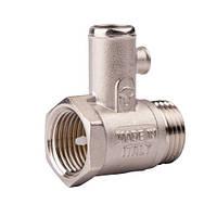 """Предохранительный клапан для водонагревателя 1/2"""" ICMA арт.GS08"""