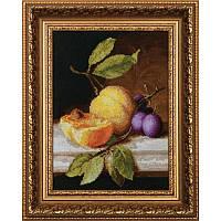 Набор для вышивки крестиком М-79 Натюрморт с персиком