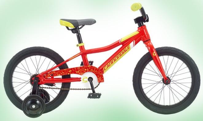 """Велосипед 16"""" Cannondale boys SS (красный с желтым)"""