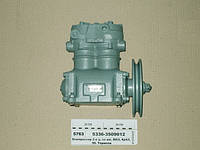Компрессор МАЗ  5336-3509012   2-цилиндровый  К-701  Т 150, КРАЗ (со шкивом) (пр-во БЗА), фото 1