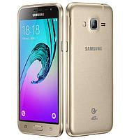 "Смартфон Samsung Galaxy J1 J120H/DS Gold, 2 MicroSim, сенсорный емкостный 4.5"" (800х480) Super AMOLED, Cortex-A7 Quad Core 1.3 GHz, RAM 1Gb, ROM 8Gb,"