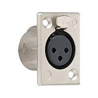 Разъем XLR розетка 3 контакта С серия Gira (43600)