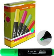 Маркер текст., Арт.LR10-0121 зелений Leader