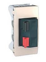 Аудио розетка 1-модульная Schneider Electric Unica Слоновая Кость (MGU3.487.25)