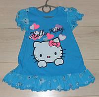 Летнее платье для девочки Хэллоу Китти,  размер 3 года