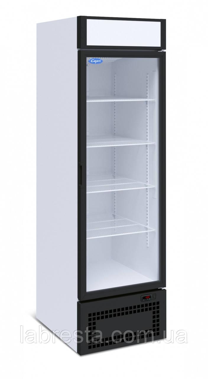 Холодильный шкаф Капри 0,5СК (стекл. дверь)