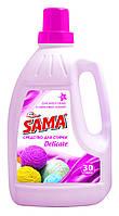 Жидкое средство для стирки шерстяных и шелковых тканей SAMA 1,5l