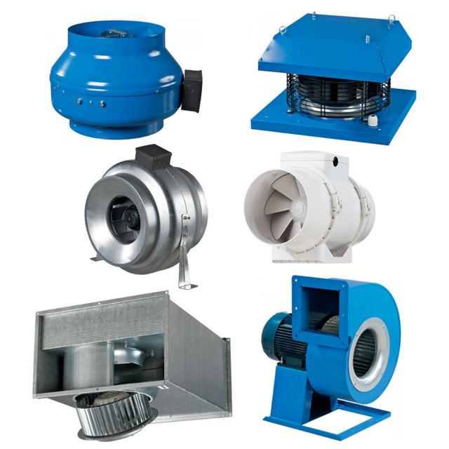Промышленные и коммерческие вентиляторы