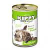 Паштет Kippy Cat для кошек с белым мясом, 400 г