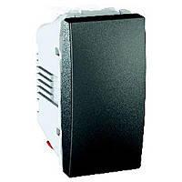 Выключатель одноклавишный проходной Schneider Electric Unica (MGU3.103.12)
