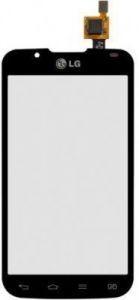 Тачскрин сенсор LG P715 Optimus L7 II Dual черный (HQ)