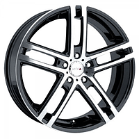 Литой диск MKW MK72 Machined w/Black Accent (R17X7 PCD5X114.3 ET40)