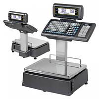 Весы для печати на этикетке DIBAL M-525 с клавиатурой на стойке