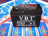 """VBT GT4B-5 """"Таблетка"""" Аккумулятор для скутеров и мопедов Honda"""
