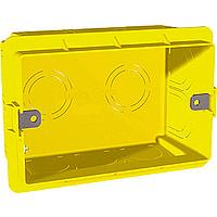 Монтажная коробка 3-модуля Unica Allegro Schneider Electric (MGU8.603)