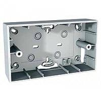 Монтажная коробка для наружной проводки 4-модуля Schneider Electriс Unica Allegro Белый (MGU8.104.18)