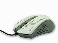 Мышь проводная, USB, ESRERANZA, 3200 dpi, белая