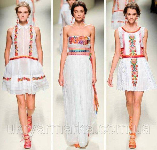 мода вишиванка, вишите плаття