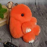 Мягкая Игрушка для девочек Брелок Кролик. 13 см