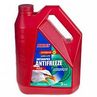 Антифриз ABRO стандарт концентрат красный (5кг) AF-565-H (AF-565-H (4))