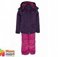 Комплект зимний, куртка и комбинезон Gusti 3010 GWG, цвет темно-фиолетовый