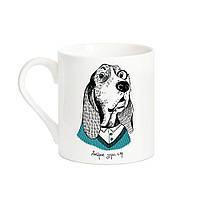Чашка собака аристократ