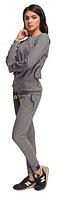 Спортивная женская кофта утепленная Paulo Connerti (original) свободная
