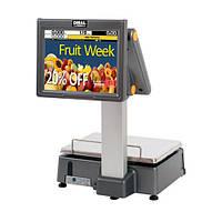 """Весы для печати на этикетке DIBAL D-955 с двумя  12"""" TFT  экранами"""