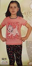 """Детская пижама для девочки """"Nicoletta"""" №85222 (капри)"""