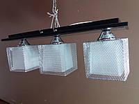 Люстра потолочная на 3 три плафона 3702