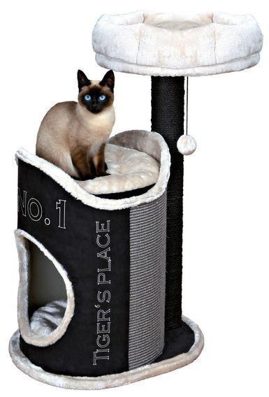 Когтеточка,дряпка Trixie TX-44415 Домик для кошки Susana 90см