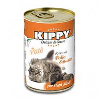 Паштет Kippy Cat для кошек с курицей, 400 г
