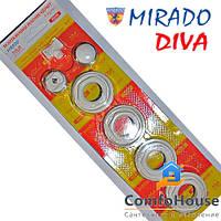 Комплект радиаторный Mirado Diva 1\2*1 (алюминий и биметалл)