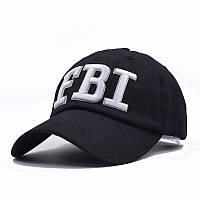 Бейсболка FBI (ФБР), Унисекс Черный