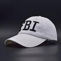 Бейсболка FBI (ФБР), Унисекс Белый