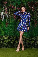 Милое платье с гипюровой отделкой