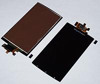 Оригинальный дисплей (модуль) + тачскрин (сенсор) для Sony Ericsson LT15a LT15i X12 LT18a LT18i (черный цвет)