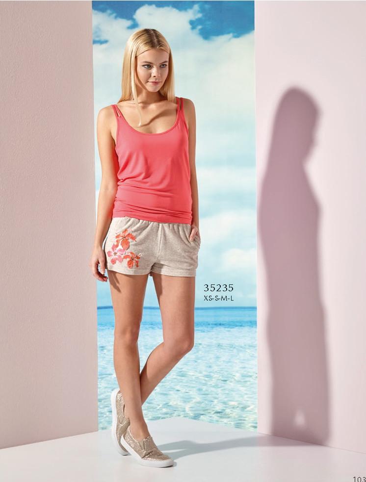 Костюм двойка женский летний майка, шорты Relax mode. - April House производство и продажа товаров для дома в Одессе