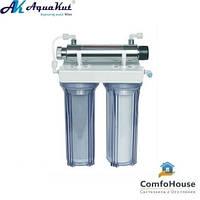 Фильтр под мойку AquaKut FP-2E-UV трёхступенчатый UV установкой