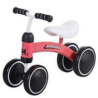Беговел детский 4-х колесный Baby-Bike 859-3