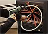 Роторный набор для чистки дымохода Торнадо под дрель, фото 4