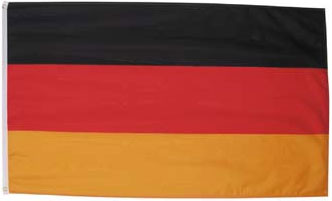 Национальный флаг Германии 90х150см MFH 35103A